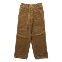 WESTOVERALLS / ウエストオーバーオールズ | 8W CORDUROY TROUSERS. 803W - Brown