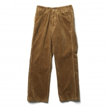 WESTOVERALLS / ウエストオーバーオールズ | 8W CORDUROY TROUSERS. 817F - Brown
