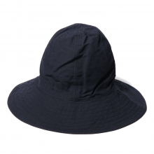 ENGINEERED GARMENTS / エンジニアドガーメンツ | Mountain Hat - Cotton Double Cloth - Dk.Navy