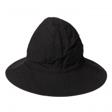 ENGINEERED GARMENTS / エンジニアドガーメンツ | Mountain Hat - Cotton Double Cloth - Black