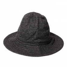 ENGINEERED GARMENTS / エンジニアドガーメンツ | Mountain Hat - Wool Homespun - Charcoal