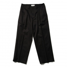 WELLDER / ウェルダー | Wide Trouseres - Black