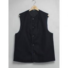 ....... RESEARCH | W Face Vest - Navy