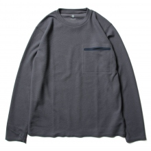 DESCENTE PAUSE / デサントポーズ | THERMAL L/S PULLOVER - Blue Gray