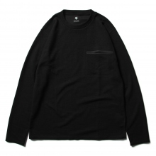 DESCENTE PAUSE / デサントポーズ | THERMAL L/S PULLOVER - Black