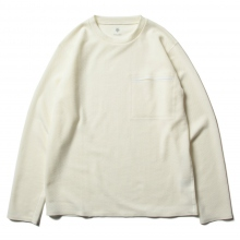 DESCENTE PAUSE / デサントポーズ | THERMAL L/S PULLOVER - White
