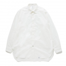 BEDWIN / ベドウィン | L/S ORGANIC COTTON BROAD SHIRT 「BRYCE」 - White