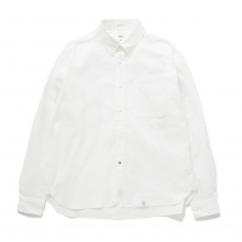 BEDWIN / ベドウィン | L/S BD ORGANIC COTTON OX SHIRT 「HAROLD」 - White
