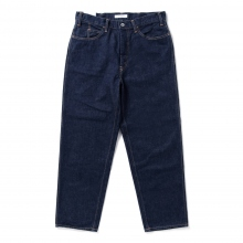 Living Concept / リビングコンセプト | 5POCKET WIDE DENIM PANTS - Indigo ★