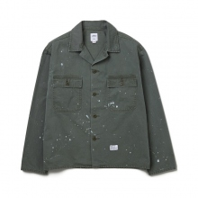 BEDWIN / ベドウィン | L/S MILITARY SHIRT JACKET 「CLIFF」 - Olive
