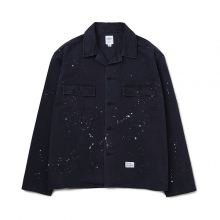 BEDWIN / ベドウィン | L/S MILITARY SHIRT JACKET 「CLIFF」 - Black