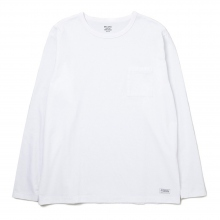 DELUXE CLOTHING / デラックス | PINA COLADA LONG SLV.TEE - White ★