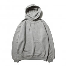 WELLDER / ウェルダー | Back Side Tucked Hooded - Top Grey
