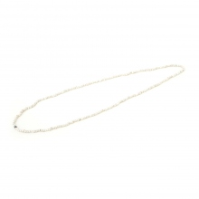 NAISSANCE / ネサーンス | VINTAGE BEADS NECKLACE (MEDIUM) - White