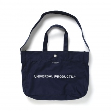 UNIVERSAL PRODUCTS / ユニバーサルプロダクツ | NEWS BAG SMALL - Navy