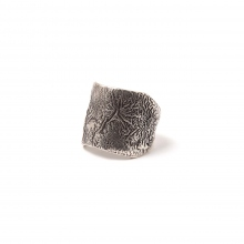 Indian Jewelry / インディアンジュエリー | Indian Jewelry / TSUNAIHAIYA Texturerized Ring - Reticulation