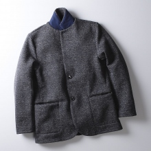 CURLY / カーリー | HB BRIGHT JACKET - Navy Hb