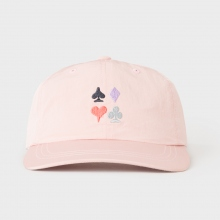 STUSSY / ステューシー | Card Suit Low Pro Cap - Pink ★