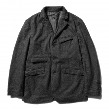 【Point 10% 9/29まで】ENGINEERED GARMENTS | Andover Jacket - Wool Homespun - Charcoal