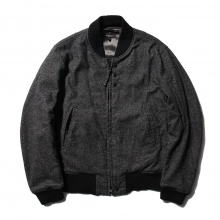 ENGINEERED GARMENTS | Aviator Jacket - Wool Homespun - Charcoal