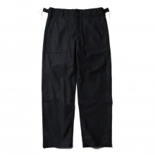 ENGINEERED GARMENTS / エンジニアドガーメンツ | EG Workaday Fatigue Pant - Reversed Sateen - Black