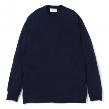 FLISTFIA / フリストフィア | Washable Wool Pull Over - Navy