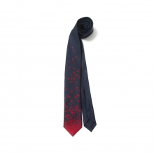 BEDWIN / ベドウィン | SAFETY PIN PRINT TIE 「DENNIS」 - Navy