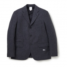 BEDWIN / ベドウィン | 3B WOOL TAYLOR JACKET 「MICHAEL」 - Charcoal