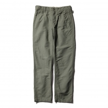 ENGINEERED GARMENTS / エンジニアドガーメンツ | Ground Pant - Cotton Double Cloth - Olive ☆
