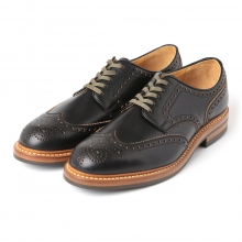 MOTO / モト | Wing Tip Lowcut #2102 / Chromexcel / Dainite sole - Black