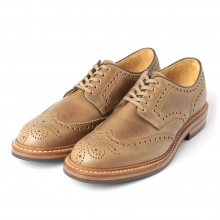 MOTO / モト | Wing Tip Lowcut #2102 / Chromexcel / Dainite sole - Natural