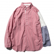 ....... RESEARCH | Cricket Shirt - Gingham Check - Red