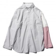 ....... RESEARCH | Cricket Shirt - London Stripe - Gray