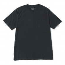 STUSSY / ステューシー | Over Dyed S/SL Tee - Black ☆