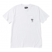STUSSY / ステューシー | Over Dyed S/SL Tee - White ☆