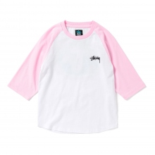 STUSSY KIDS / ステューシー キッズ | Kids Global Designs Raglan - Pink ★