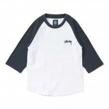 STUSSY KIDS / ステューシー キッズ | Kids Global Designs Raglan - Blue ★