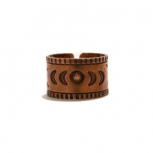 hobo / ホーボー | Desert Flower Copper Ring Wide by STANLEY PARKER