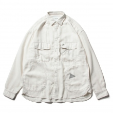 and wander / アンドワンダー | thermonel shirt - Off White