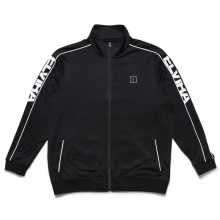ELVIRA / エルビラ | BREAK JERSEY JACKET - Black × White