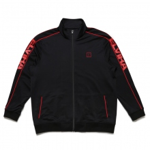 ELVIRA / エルビラ | BREAK JERSEY JACKET - Black × Red