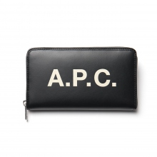 A.P.C. / アーペーセー | Portefeuille Morgan 18A - Black