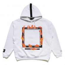 ELVIRA / エルビラ | BURNING FRAME HOODY - White