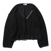 NEON SIGN / ネオンサイン | S140s Fleece Sweat - Black