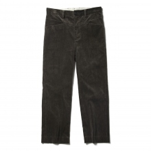URU / ウル | COTTON CORDUROY EASY PANTS - D.Brown