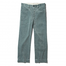 URU / ウル | COTTON CORDUROY EASY PANTS - Aqua