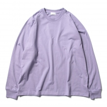 URU / ウル | COTTON L/S TEE - L.Purple