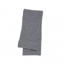 Mr.GENTLEMAN / ミスタージェントルマン|LOW GAUGE KNIT MUFFLER - Grey