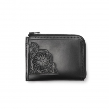 Needles / ニードルズ | Carving Coin Case - Black