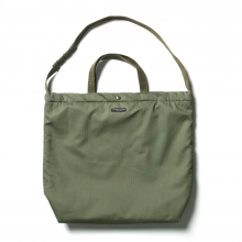 ENGINEERED GARMENTS / エンジニアドガーメンツ | Carry All Tote - Cotton HB Twill - Olive